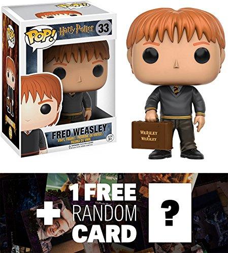 Fred Weasley: Funko POP! x Harry Potter Vinyl Figure + 1 FRE