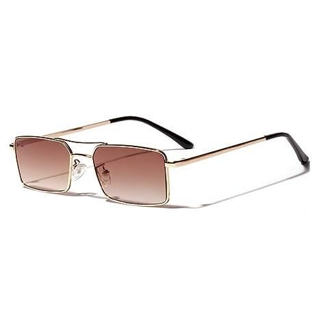 Yangjing-hl Nuevas Gafas de Sol cuadradas Retro Men Gafas de ...