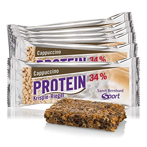Sanct Bernhard Sport Protein-Krispie-Riegel Cappuccino 11er-Pack