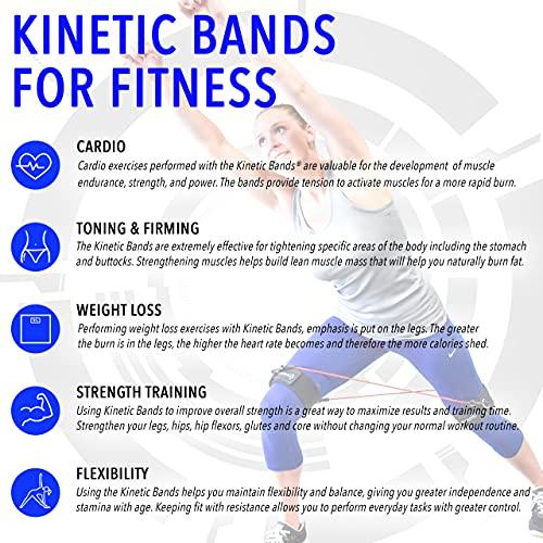 Strength Leg Training Speed Band Kinetic Resistance Exercise Leg Train Bands New