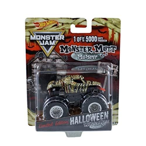 Hot Wheels Exclusive 1:64 Halloween Monster Jam Monster Mummy Mutt 1 of 5000 Limited Edition -