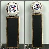 "Toronto Blue Jays Baseball Chalkboard Tap Handle (9.5"", Dark Walnut)"