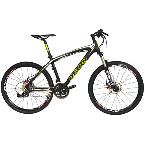 BEIOU Toray T700 Carbon Fiber Mountain Bike Complete Bicycle MTB 27 Speed 26-Inch Wheel SHIMANO 370 CB004 (White&Black, 15-Inch) -  Zhejiang Beiou Composite Manufacture Co., Ltd, BO-CB004E15X