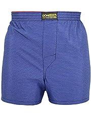 5'li Paket Don Leon Pamuk Poplin Erkek Boxer Şort-ASORTİ RENKLERDE
