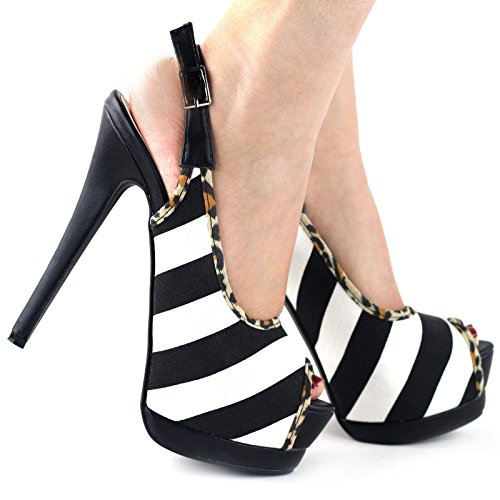 Show Story - Zapatos con tacón mujer Negro - negro