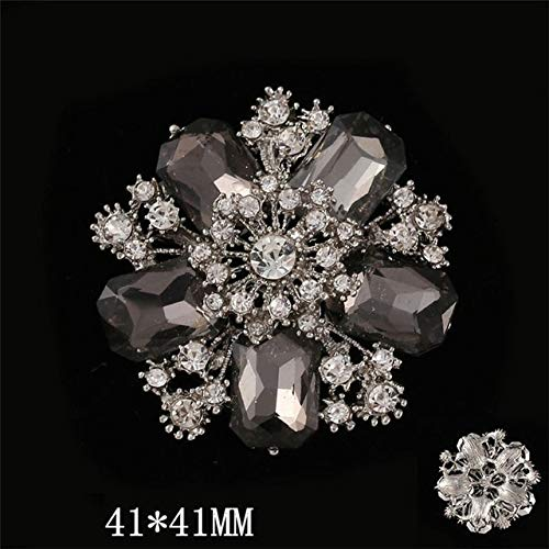 - Dalab DIY Keychains Alloy Crystal Cabbage Crown Craft Supplies Handmade DIY Jewelry Accessories Earrings Necklaces DIY Jewelry Marking - (Color: 29)