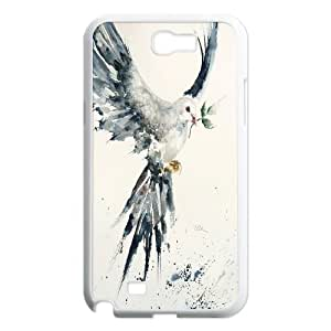 [H-DIY CASE] For Samsung Galaxy Note 2 -White Dove,Holy Spirit-Love Peace-CASE-10