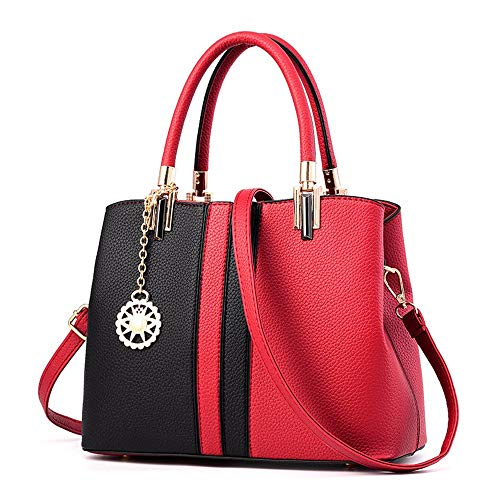 Gxinyanlong Moda Mujer Bolsos black Colorear Bolsas Señora De Para Gules tqxC6rtw