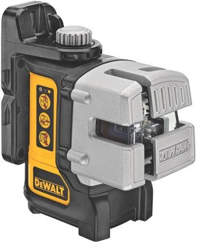6. DeWALT DW089K Self-Leveling 3-Beam Line Laser
