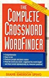 img - for The Complete Crossword Word Finder by Diane E. Spino (1998-12-01) book / textbook / text book