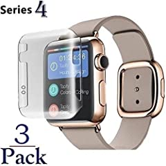 Josi Minea Protective Snap-On Case with Built-in Screen Protector for Apple Watch Series 4Josi Minea protective cover case will pay for itself as your first line of defense from scratches that will greatly reduce the resale value of your App...