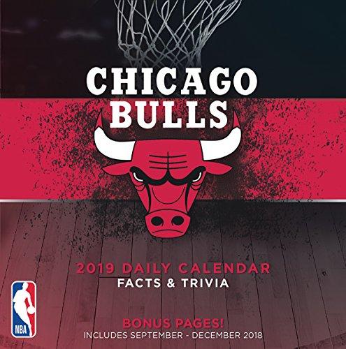 Turner 1 Sport Chicago Bulls 2019 Box Calendar Desk Calendar (19998051420) (Chicago Bulls Nba Table)