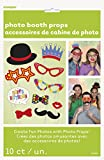 Confetti Birthday Photo Booth Props, Pack of 10