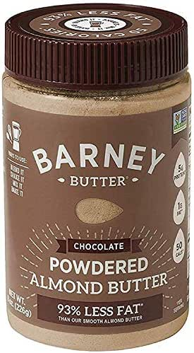 Peanut & Nut Butters: Barney Butter Powdered Almond Butter Chocolate