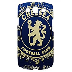 Personal Design FC Chelsea Football Club Phone Case Cover For Samsung Galaxy S3 3D Plastic Phone Case