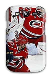 Quality ChristopherMashanHenderson Case Cover With Carolina Hurricanes (61) Nice Appearance Compatible With Galaxy S3