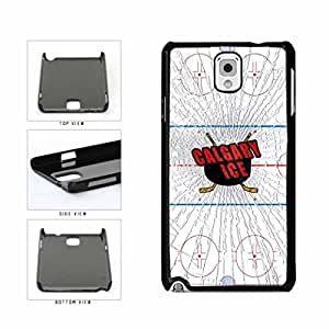 Calgary Ice Plastic Phone Case Back Cover Samsung Galaxy Note III 3 N9002