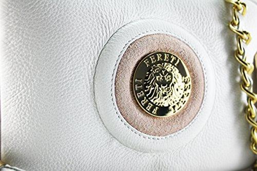 Alta Originale Portamonete Donna Qualità Per Certificat Con Vera Fereti Borsa Pelle FWqfqd