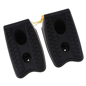 Sharplace 2 Piezas de Plástico de Alto Agarre de Rueda para Caravana de Autocaravanas