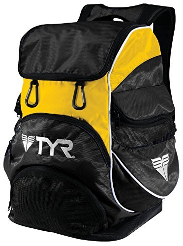 TYR Alliance Team Backpack II Black Gold by TYR