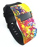 Band Cover for Fitbit Charge/Fitbit Charge HR Slim Designer Sleeve - Band Cover