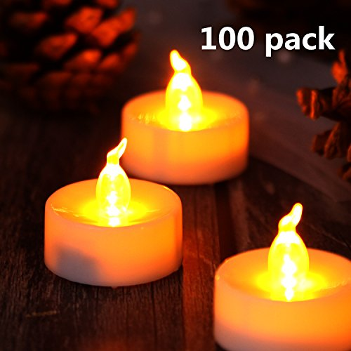 Lasting Tealights AGPtek%C2%AE Battery Operated Flameless