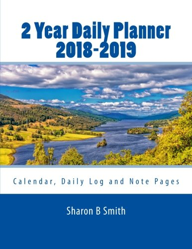 December 2017 Calendar With January 2020 2 Year Daily Planner 2018 2019: December 2017 thru January 2020