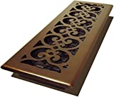 Decor Grates SPH414-RB 4x14 Scroll Plated Register, 4-Inch by 14-Inch, Rubbed Bronze by Decor Grates