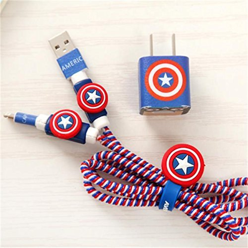 Captain America Cable Organizer