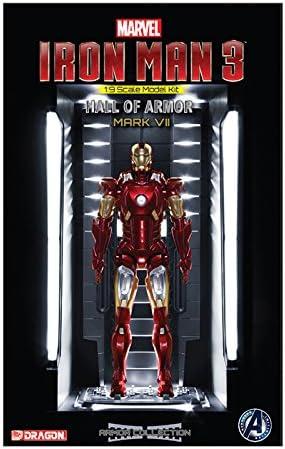 Hall of Armor Mark VII Model Building Kit Dragon Models USA Inc Dragon Models 1//9 Iron Man 3 DRA-38336