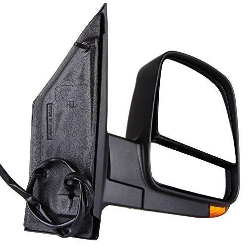 SCITOO fit 2008-2017 Express Savana Van Right Door Power Passenger Side View Mirror Heated Signal Dual ()