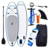 Smibie 12' Inflatable SUP Stand-Up Paddle Board & Accessories Package Deal