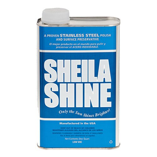 Sheila Shine SSCA32 1 qt. Stainless Steel Cleaner & Polish Can B016TQGZHU
