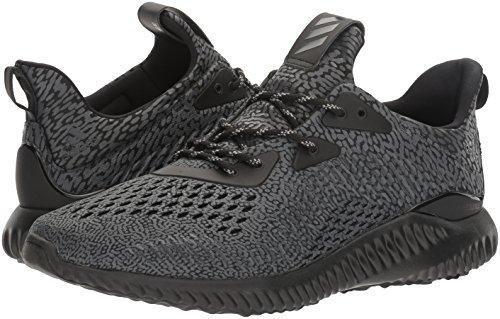brand new d1c40 d9997 adidas Performance Mens Alphabounce Ams Running Shoe, BlackUtility  BlackWhite, 13