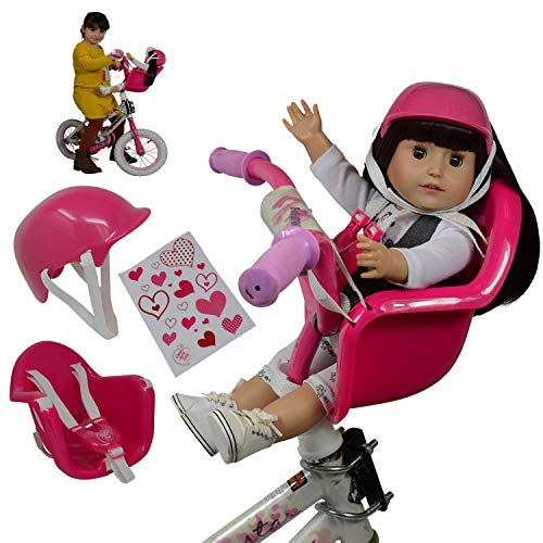 Image of The New York Doll Collection Doll Bike Seat Carrier for