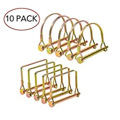 10 Pieces Heavy Duty Shaft Locking Pin, ...