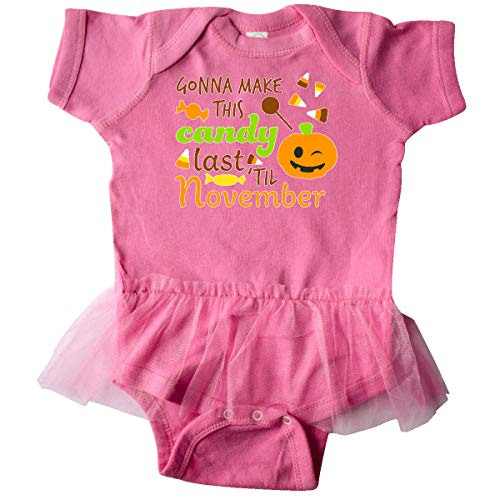 inktastic - Gonna Make This Candy Infant Tutu Bodysuit 6 Months Raspberry -