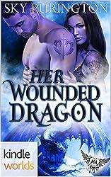Paranormal Dating Agency: Her Wounded Dragon (Viking Ancestors' Kin, Book 4.5) (Kindle Worlds Novella)