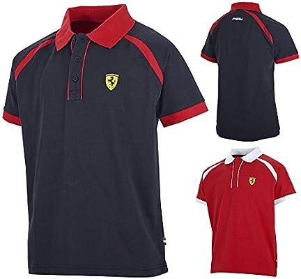 Ferrari Nuevo. 2015 Scuderia F1 niños Race deportivo Polo 100 ...