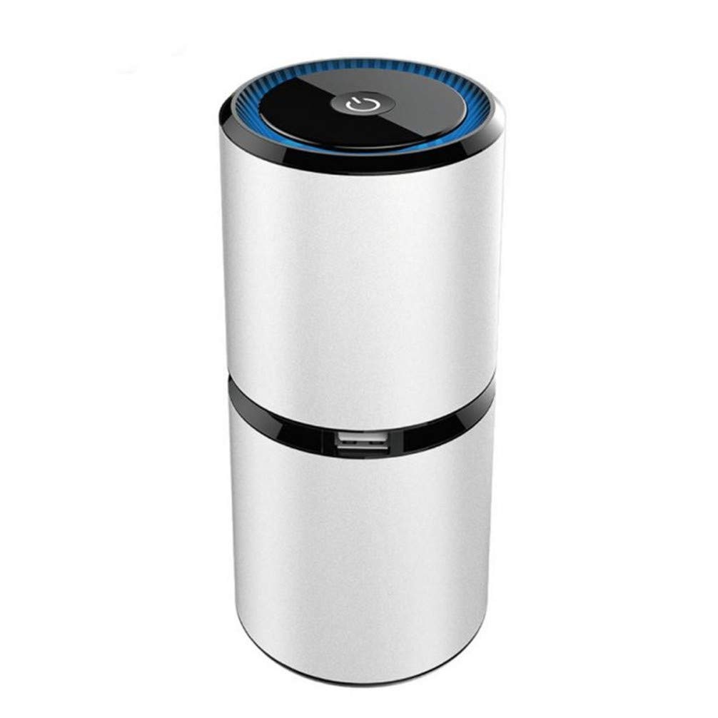 Purificador De Aire Del Coche 12V Iones Negativos Limpiador De Aire Ionizador Ambientador De Aire Auto Mist Maker,A: Amazon.es: Salud y cuidado personal