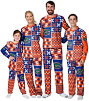 NCAA Busy Block Family Matching Collection Set Holiday Pjs