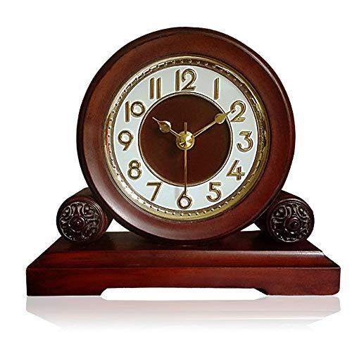 Mostrar Reloj de Chimenea Reloj Silencioso Sin tictac Decorativo ...