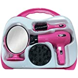 Girls Kids Children's Role Play Toy Hair styler Set In Hard Carry Case