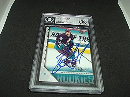 dd0adc53a Image Unavailable. Image not available for. Color  Ryan Getzlaf Signed ...