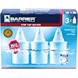 Barrier 3 Pack Replacement Water Filter Cartridge - For Premia And Grand, Each Filter Filters up to 95 Gallons of H2O