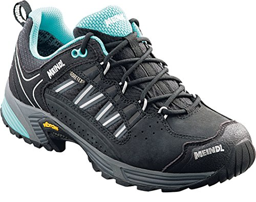 Meindl MUJER Trail Calzado exteriores Botas senderismo SX 1.1 Mujer GTX limón-negro - negro-azul petróleo