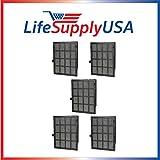 5 pcs True HEPA Replacement Filter Fits Winix 114190 Size 21 by Vacuum Savings