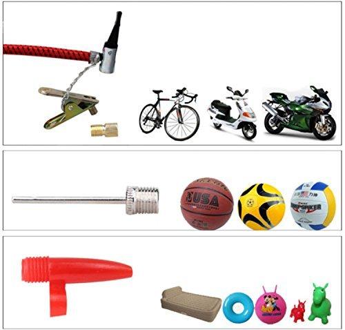 Amazon.com: Alta Presión Car Bike neumáticos Inflador De ...