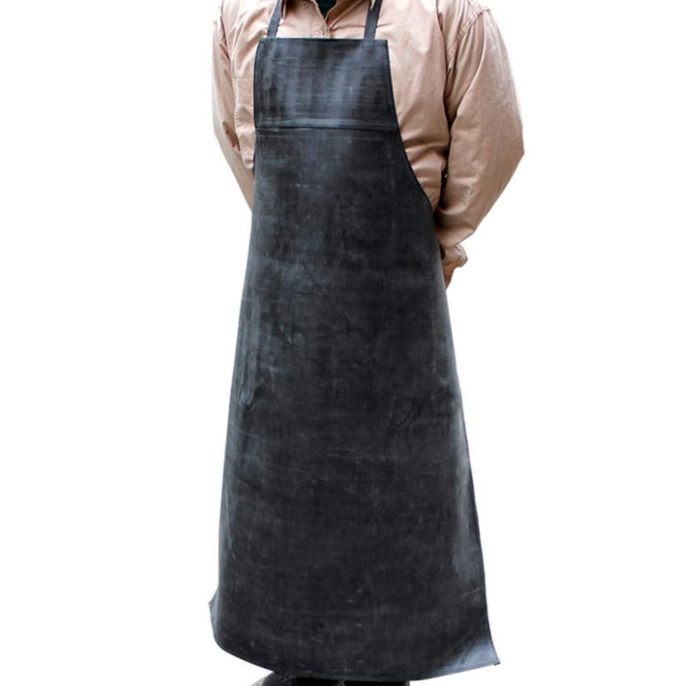 Natural Rubber Waterproof Apron Acid//Alkali Resistant Oil Proof Protection Work