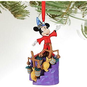 Disney Sorcerer Mickey Mouse Light-Up Sketchbook Ornament - Fantasia